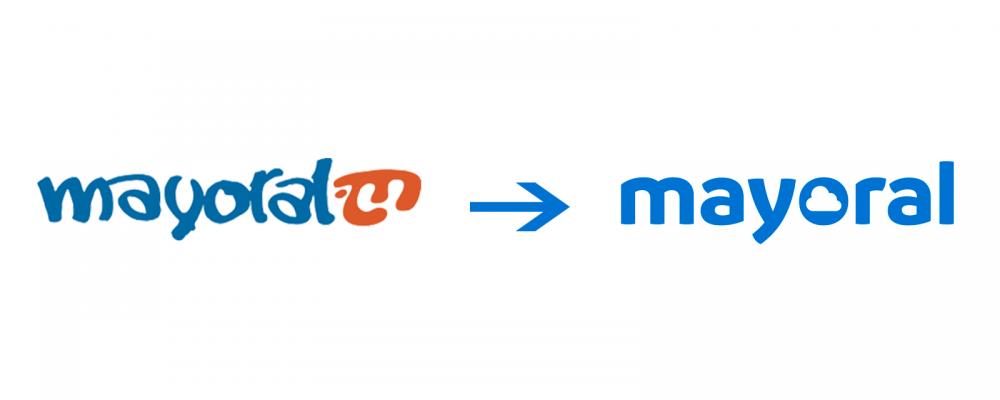 Mayoral - Представи ново лого