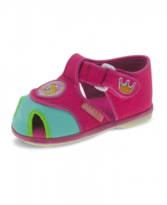 Бебешки сандали Beppi за момиче от плат
