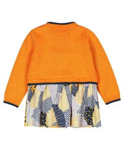 Бебешка плетена рокля Boboli 6077 022
