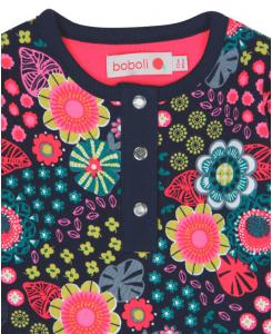 Бебешка памучна рокля Boboli на цветя 6067 023