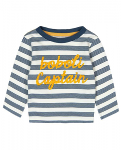 Бебешка блуза Boboli на райе за момче 6001 032