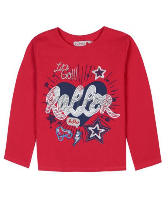 Детска блуза Boboli Roller за момиче 6044 040