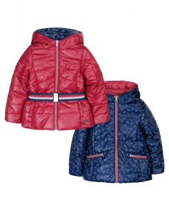 Детско зимно яке Boboli с две лица за момиче 6189 040