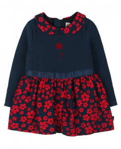Бебешка рокля Boboli с цветя 6003 070