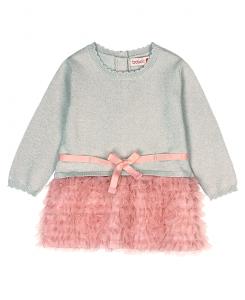 Бебешка плетена рокля Boboli с пачка 6227 070