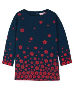 Детска памучна рокля Boboli с цветя 6151 072