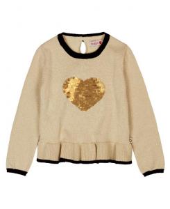 Детска блуза Boboli с пайети за момиче 6522 072
