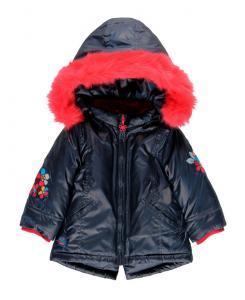 Детско зимно яке за момиче Boboli с пухче
