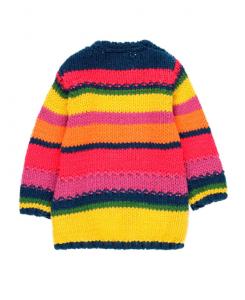 Детска плетена рокля Boboli със сърце