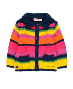 Детска плетена жилетка Boboli за момиче
