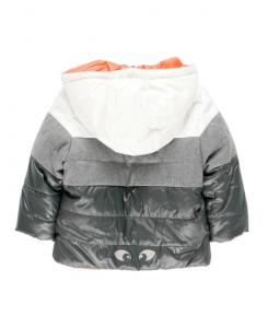Детско зимно яке за момче Boboli с две лица