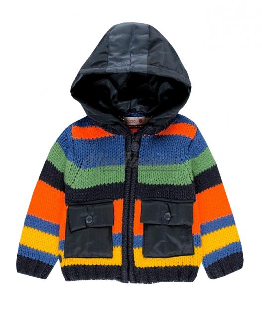 Детска плетена жилетка Boboli за момче
