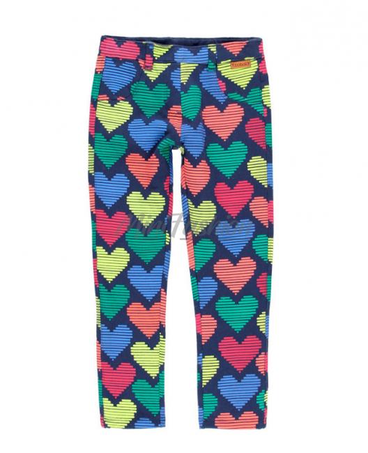 Детски панталон за момиче Boboli на сърца