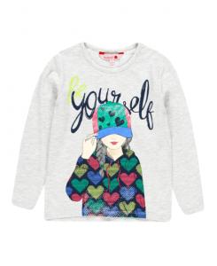 Детскa блуза за момиче Boboli с щампа