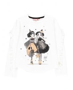 Детска блуза за момиче Boboli с принт
