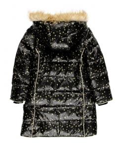 Дълго зимно яке за момиче Boboli с пухче