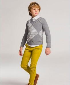 Детска риза за момче Boboli от поплин