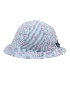 Бебешка шапка Boboli за момиче на райе 207032