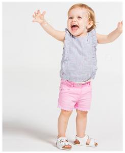 Бебешки потник Boboli от поплин за момиче 207043