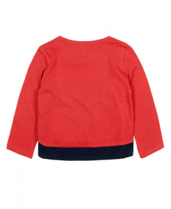 Бебешка блуза Boboli с дълъг ръкав за момиче 227001
