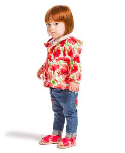 Бебешки дънки Boboli с бродерии за момиче 227012