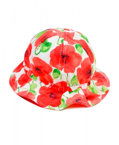 Бебешка шапка Boboli на цветя 227078
