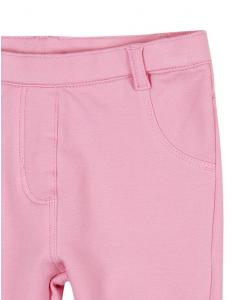 Бебешки памучен панталон Boboli за момиче 297019