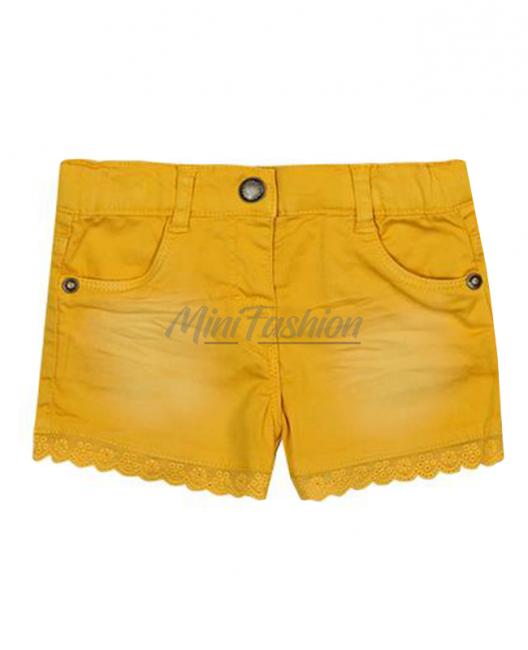 Къси бебешки панталони Boboli за момиче 297020