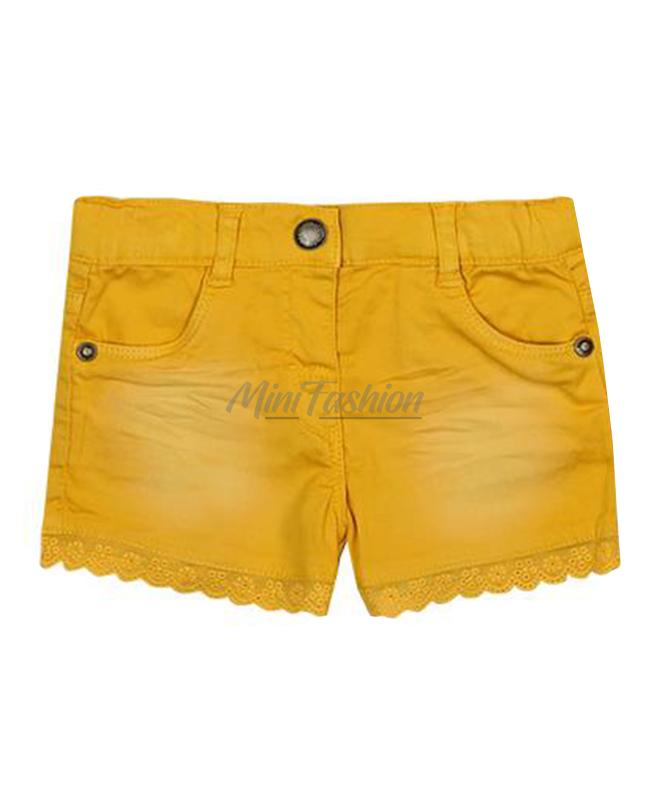 fafa76fd518 Къси бебешки панталони Boboli за момиче 297020 | Mini Fashion