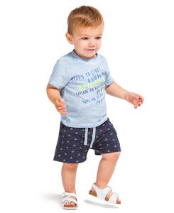 Бебешки къси гащи Boboli за момче 307077