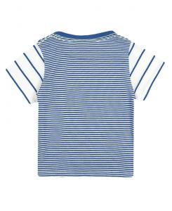 Бебешка тениска Boboli на райе за момче 307101