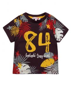 Бебешка тениска Boboli с принт за момче 317067
