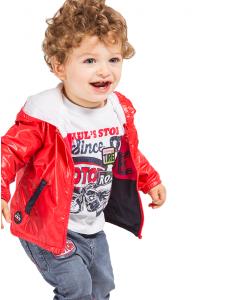 Бебешки дънки Boboli с кръпки за момче 327024