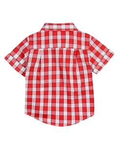 Бебешка риза Boboli с къс ръкав за момче 327057