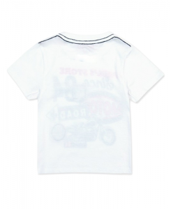Бебешка тениска Boboli с щампа за момче 327068
