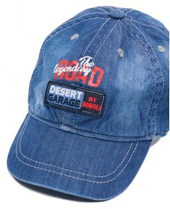 Бебешка дънкова шапка Boboli с козирка за момче 327103