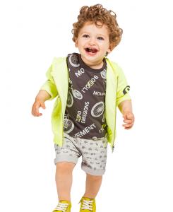 Бебешки бермуди Boboli с щампи за момче 347059