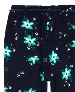 Детски панталон Boboli с цветя за момиче 417046