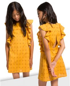 Детска рокля Boboli с изрязан гръб 427058