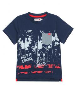 Детска тениска Boboli с щампа за момче 507013