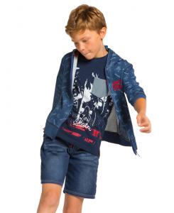Детски дънкови бермуди Boboli за момче 507125