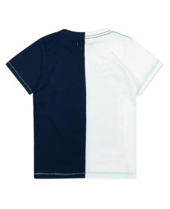 Двуцветна тениска Boboli за момче 517079