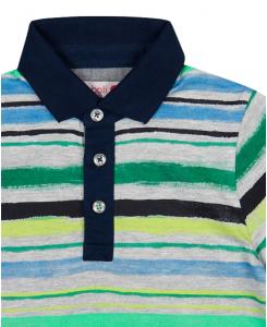 Детска поло тениска Boboli на райе за момче 517092