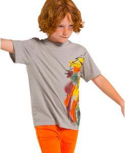 Детска фланелка Boboli с щампа за момче 527060