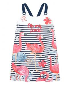Детска рокля Boboli с фламинго 827074