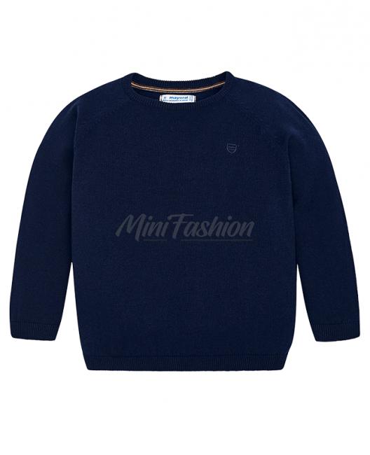 Детски изчистен пуловер Mayoral за момче 0323 085