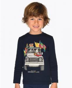 Детска блуза с дълъг ръкав Mayoral за момче