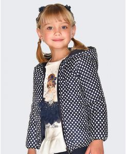 Детско яке за момиче Mayoral с две лица