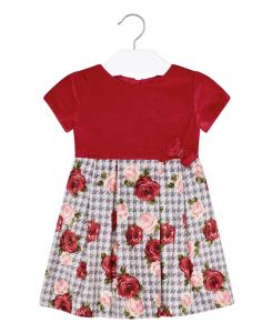 Детска рокля Mayoral от кадифе