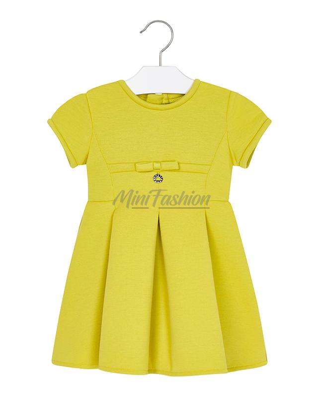 6bc16f8f738 Детска рокля Mayoral с къс ръкав   Mini Fashion